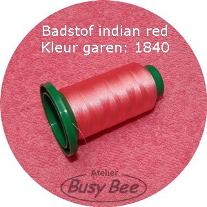 1840 indian red