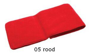 kindersjaal rood