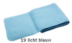kindersjaal licht blauw