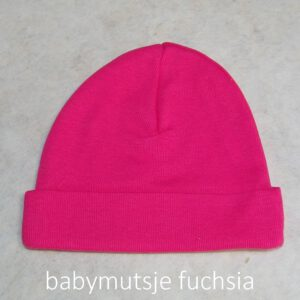 babymutsje fuchsia