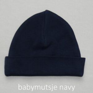babymutsje navy