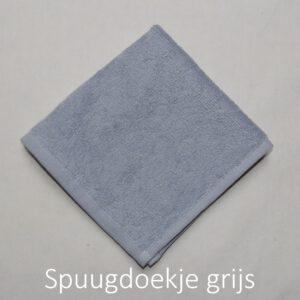 spuugdoek grijs