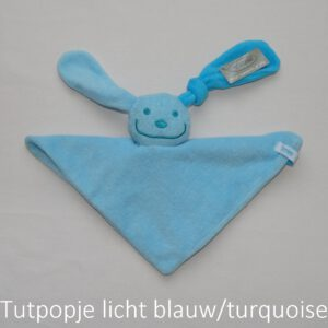 tutpopje blauw/turquoise