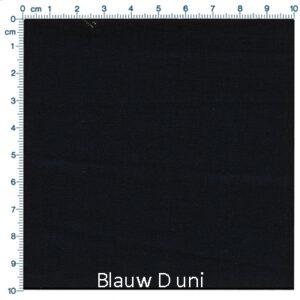 Blauw D uni