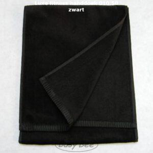 fitness handdoek zwart