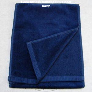 fitness handdoek navy